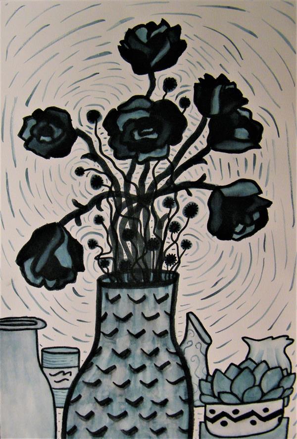 CKHS Vase of Flowers AMiller