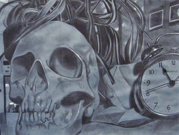 KCarter Still Life with Clock