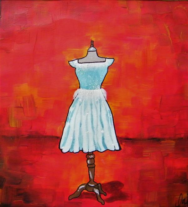 LMatthes The Blue Dress