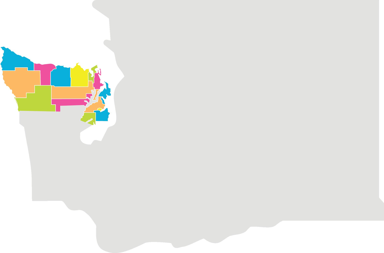 District Map, Washington State
