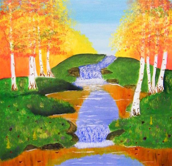 RSchaaf Autumn Falls