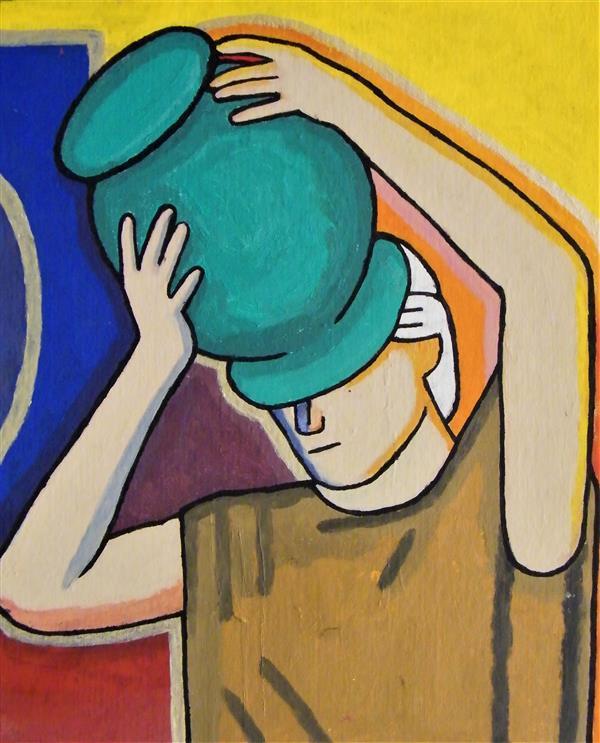 RadetskiN Man with Pot by Antigone