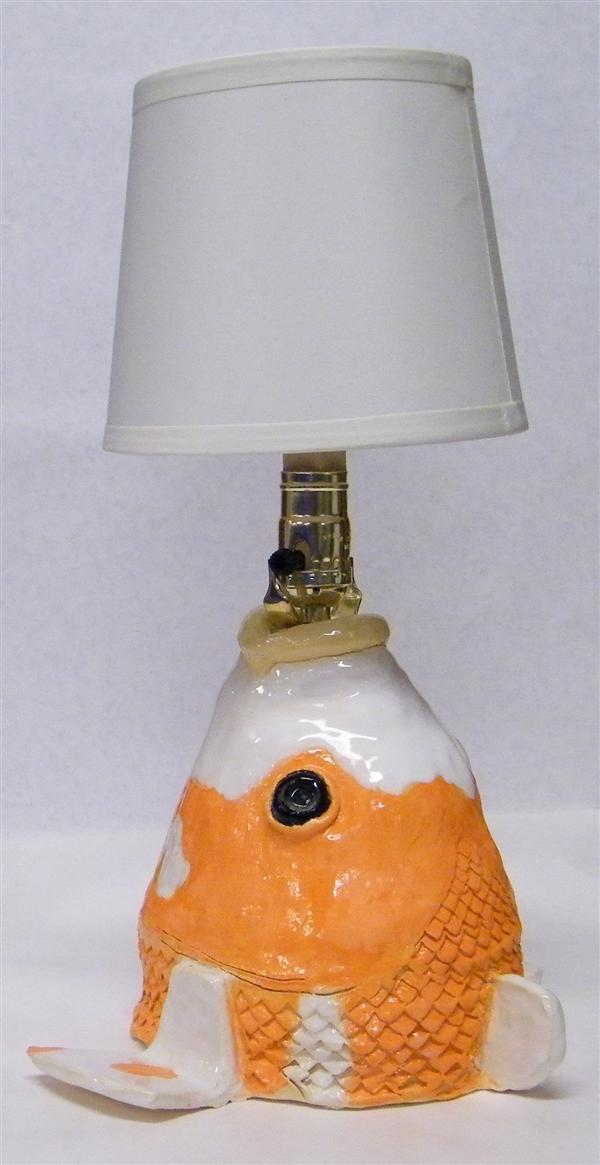 UNTITLED GOLDFISH LAMP ESnyder